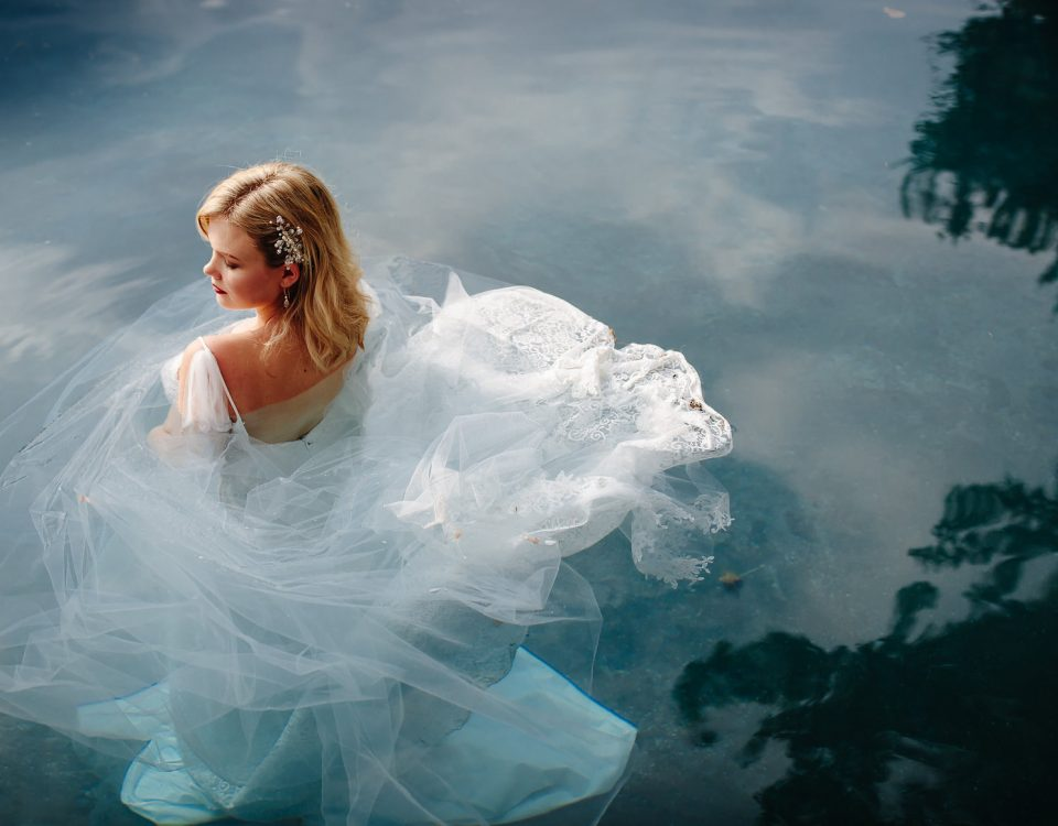 Styled shoot, wedding dress, bespoke wedding dress, tulle wedding dress