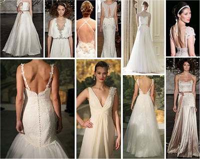 Wedding dress 2013, low back wedding dress, lace wedding dress, classic wedding dress, sexy wedding dress