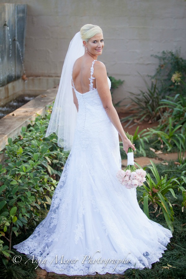 White lace wedding dress | Classic White lace wedding dress | White lace wedding gown | Lace straps