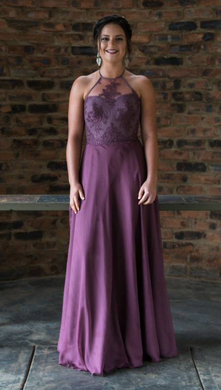 Kayla In Custom Marykemaryke Designs Matric Dance Dressfront