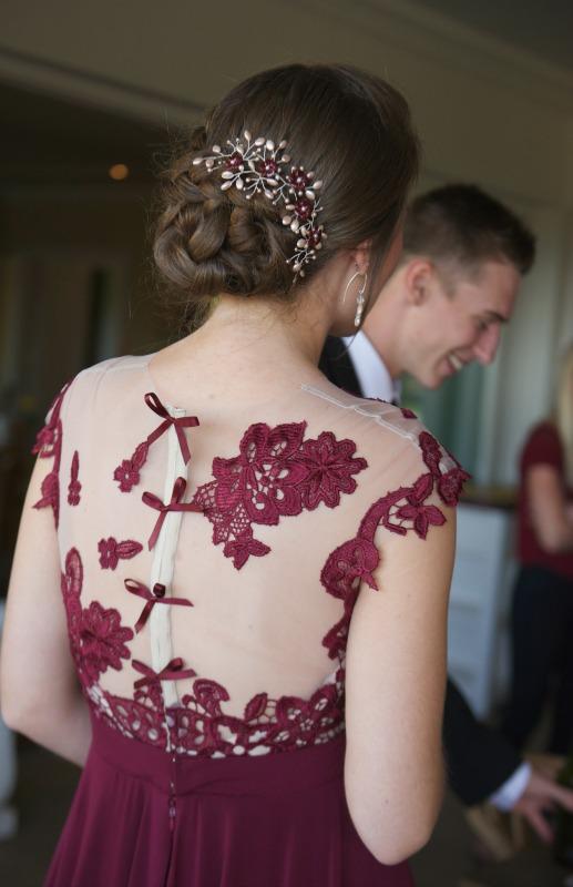 Matric Dance Dress, Burgundy Matric Dance Dress, Custom made Matric Dance Dress, Custom Made Evening Dress, Bespoke Evening Matric Dance Dress