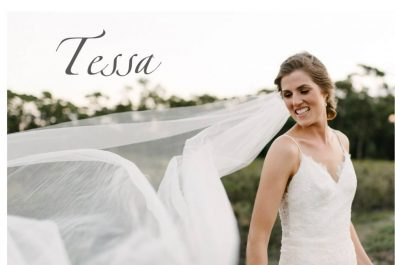 Blush tulle skirt wedding dress, dropped waist wedding dress, Chantilly lace bodice, Open back wedding dress, Milk white wedding dress with shoestring straps