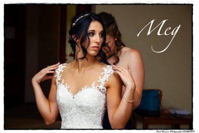 Milk White Illusion back mermaid wedding dress, Milk White wedding dress with illusion neckline lace applique detail, Milk White illusion mesh low back wedding dress