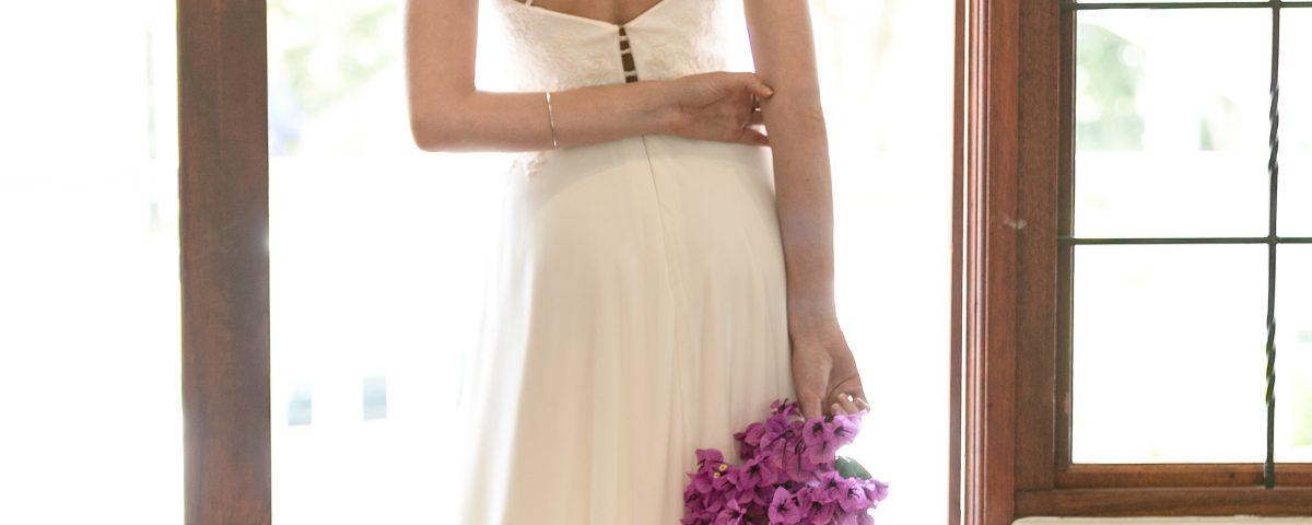 Ready-to-purchase Maryke Wedding Dress, Abigail Bespoke by Maryke Collection 2017, Chiffon Wedding Dress,