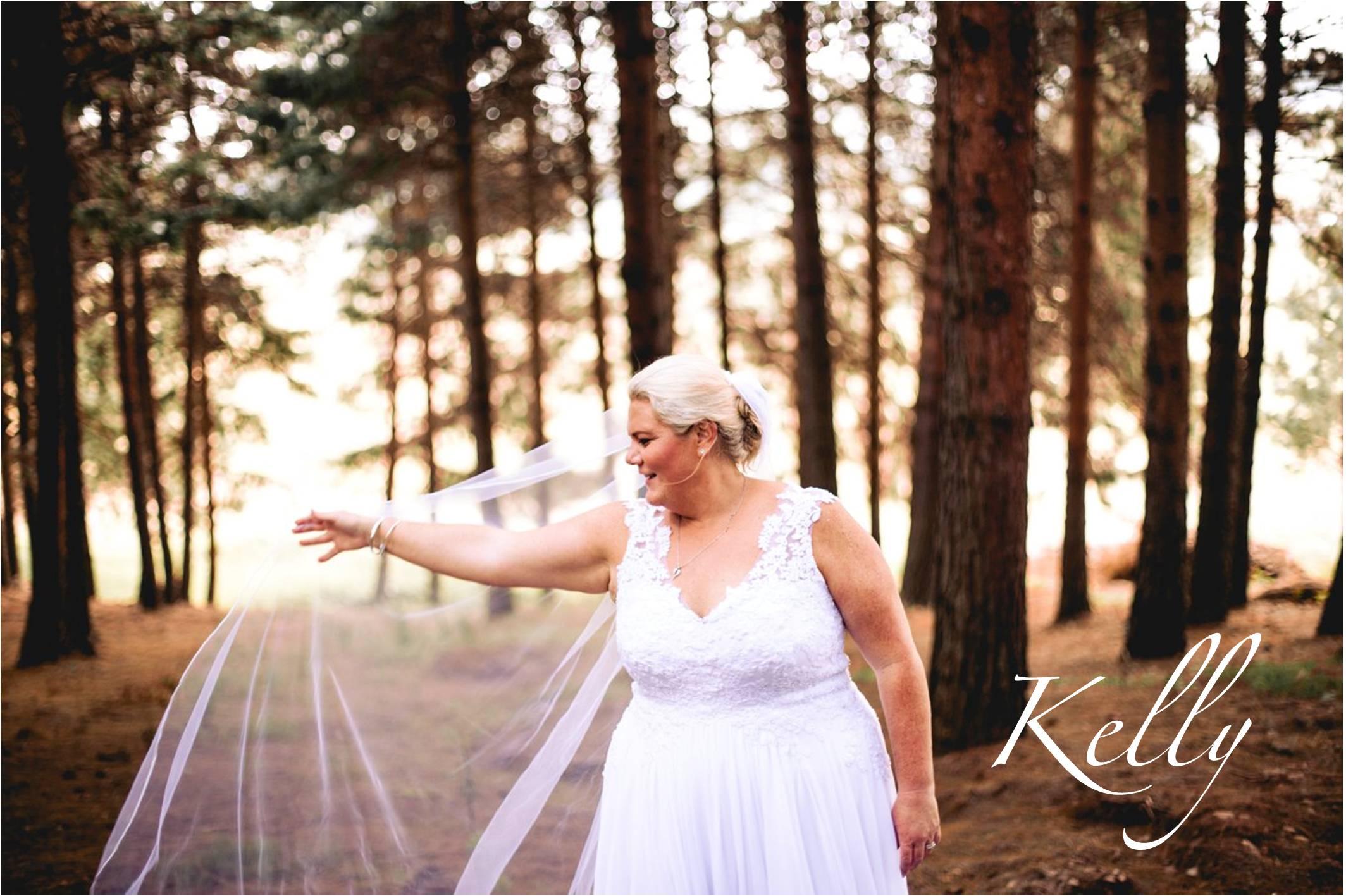 White Chiffon Wedding Dress, Illusion lace shoulder straps, Plus size wedding dress