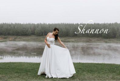 Modern Classic Wedding Dress, Milk White Minimalist Wedding Dress