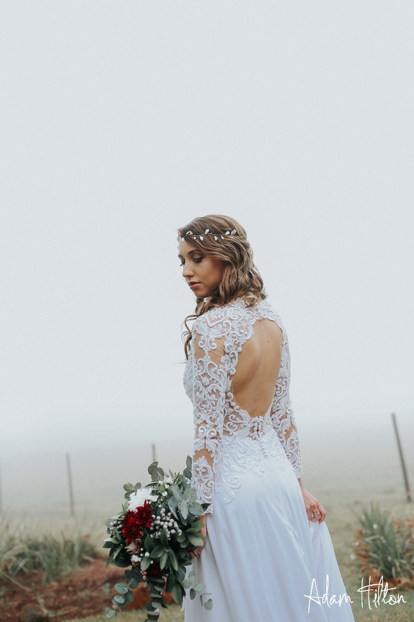 Exquisite Bo-ho inspired wedding dress, Bo-ho inspired wedding dress with lace sleeves