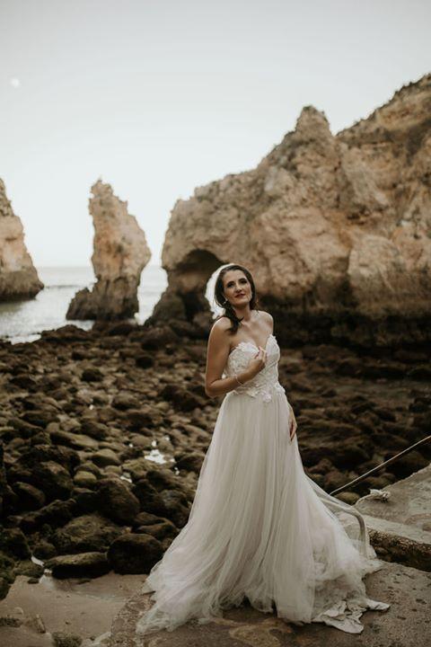 Tulle wedding dress, Bespoke by Maryke Faye