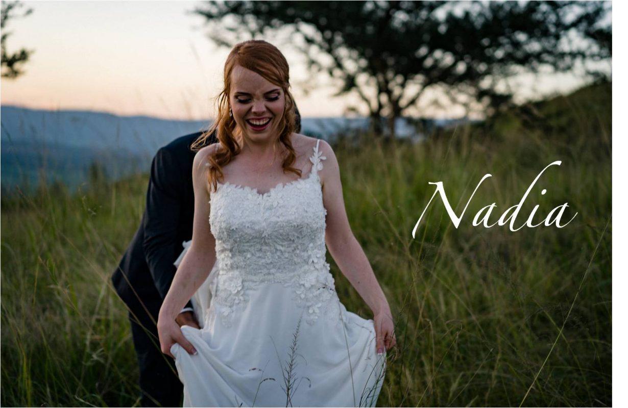 Custom Maryke Wedding Dress, Chiffon skirt Wedding Dress, 3D Lace wedding dress