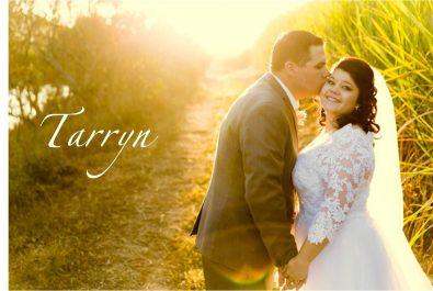 Tarryn in Custom Maryke Wedding Dress