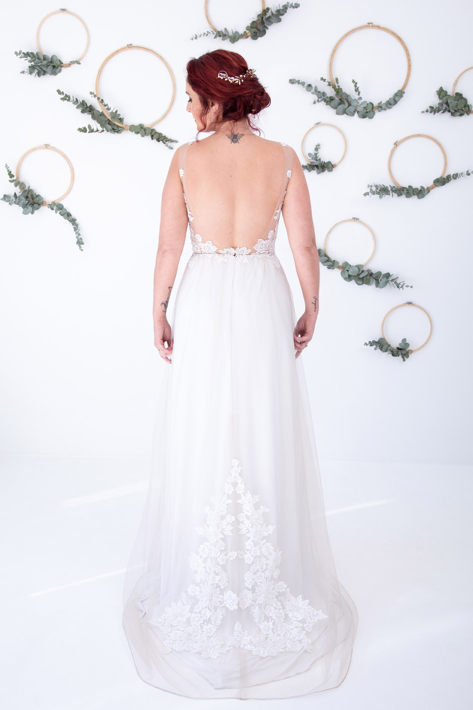 Bridgette back from Bespoke by Maryke Ready to Wear Collection_South African Wedding Dress Designer